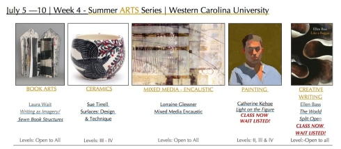 Summer ARTS series